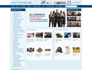 carltonstraining.com screenshot
