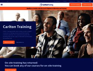 carltontraining.co.uk screenshot