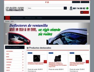 carlux.es screenshot