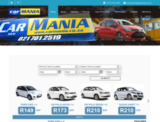 carmania.co.za screenshot