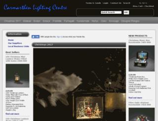 carmarthen-lighting.co.uk screenshot