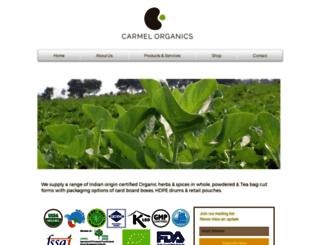 carmelorganics.in screenshot