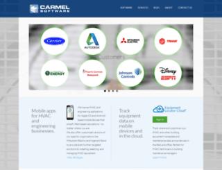 carmelsoft.com screenshot