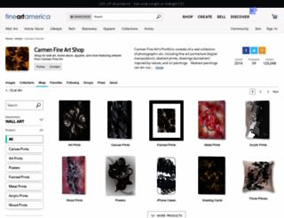 carmen-isaila.artistwebsites.com screenshot