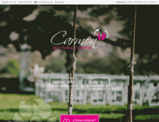carmenfloristeria.es screenshot