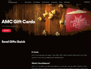 carmikegiftcards.com screenshot