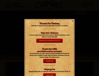 carminesnyc.com screenshot