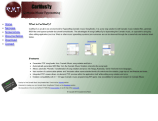 carmusty.sourceforge.net screenshot