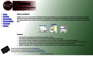 carmusty.sourceforge.net screenshot