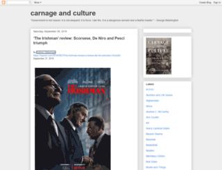 carnageandculture.blogspot.hu screenshot