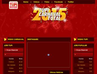 carnaval.tupi.am screenshot