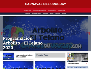 carnavaldeluruguay.com screenshot