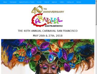 carnavalsf.com screenshot