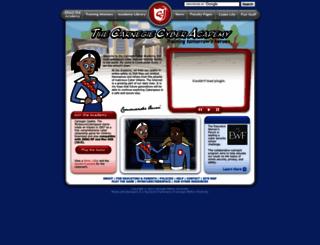 carnegiecyberacademy.com screenshot