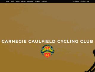 carnegiecycling.com.au screenshot