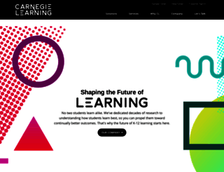 carnegielearning.com screenshot
