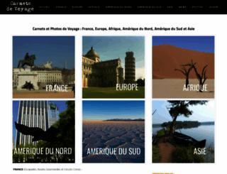 carnets-voyage.com screenshot