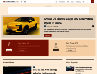 carnewschina.com screenshot