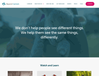 carnism.org screenshot