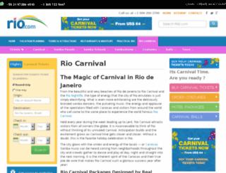 carnival.rio.com screenshot