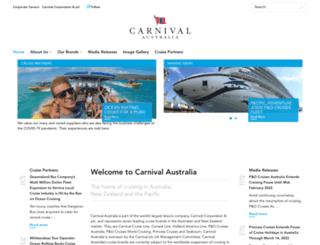 carnivalaustralia.com screenshot
