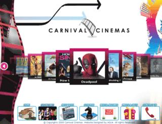 carnivalcinemas.net screenshot