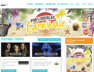 carnivale.com.au screenshot