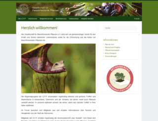 carnivoren.org screenshot