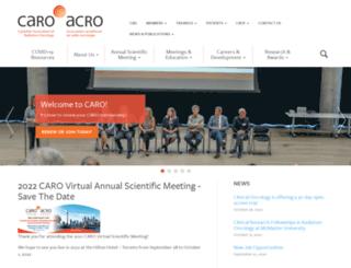 caro-acro.ca screenshot
