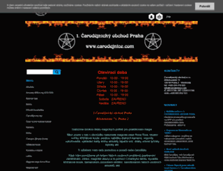 carodejnice.com screenshot