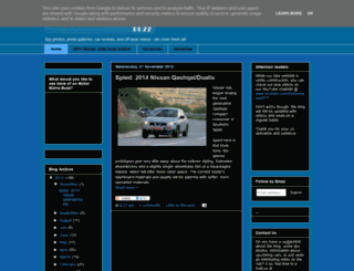 carofthefuture.blogspot.com screenshot