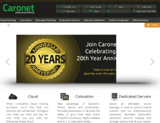 carohosting.com screenshot