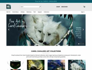 carol-cavalaris.artistwebsites.com screenshot