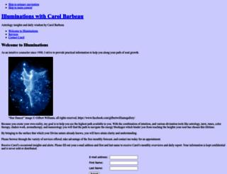 carolbarbeau.com screenshot