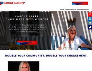 carolebakertv.com screenshot