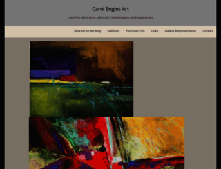 carolengles.artspan.com screenshot