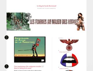 caroleravereaud.wordpress.com screenshot