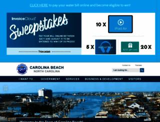 carolinabeach.org screenshot