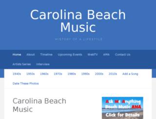 carolinabeachmusic.com screenshot