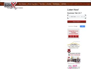 carolinaconnections.businessradiox.com screenshot