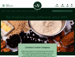 carolinacookie.com screenshot