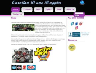 carolinadunebuggies.com screenshot