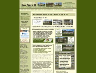 carolinahomeplans.net screenshot