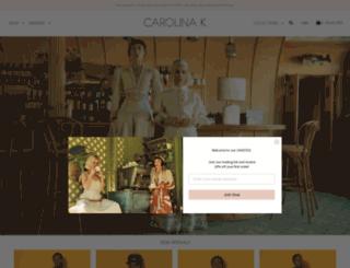 carolinak.com screenshot