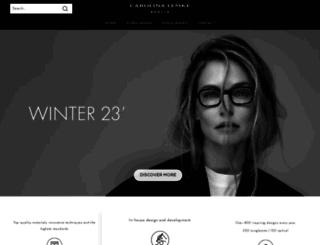 carolinalemke.com screenshot