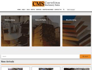 carolinamachinerysales.com screenshot
