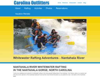 carolinaoutfitters.com screenshot