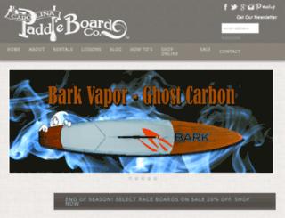 carolinapaddle.com screenshot