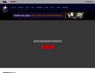 carolinarailhawks.com screenshot