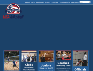 carolinaregionvb.org screenshot